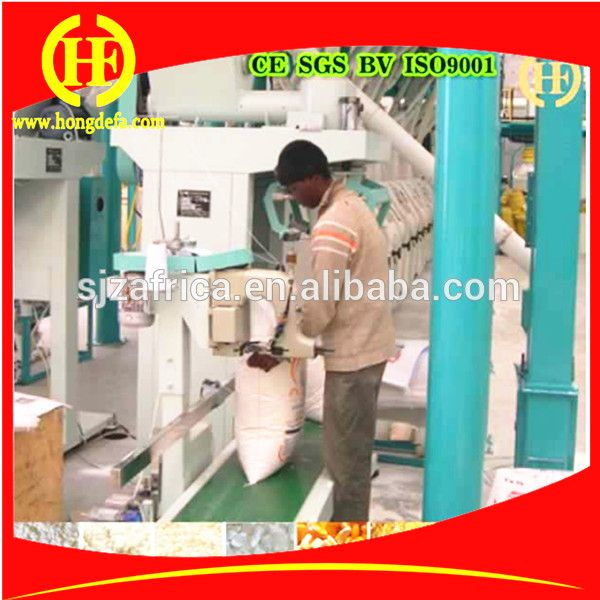 Packing Machine For Maize Mill Maize Flour Mill