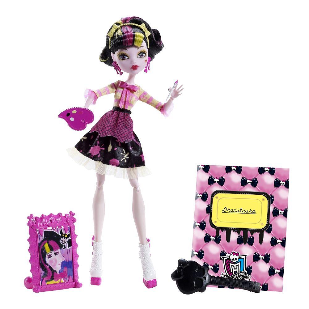 """Monster High - Art Class Puppe Draculaura - Mattel - Toys""""R""""Us"""