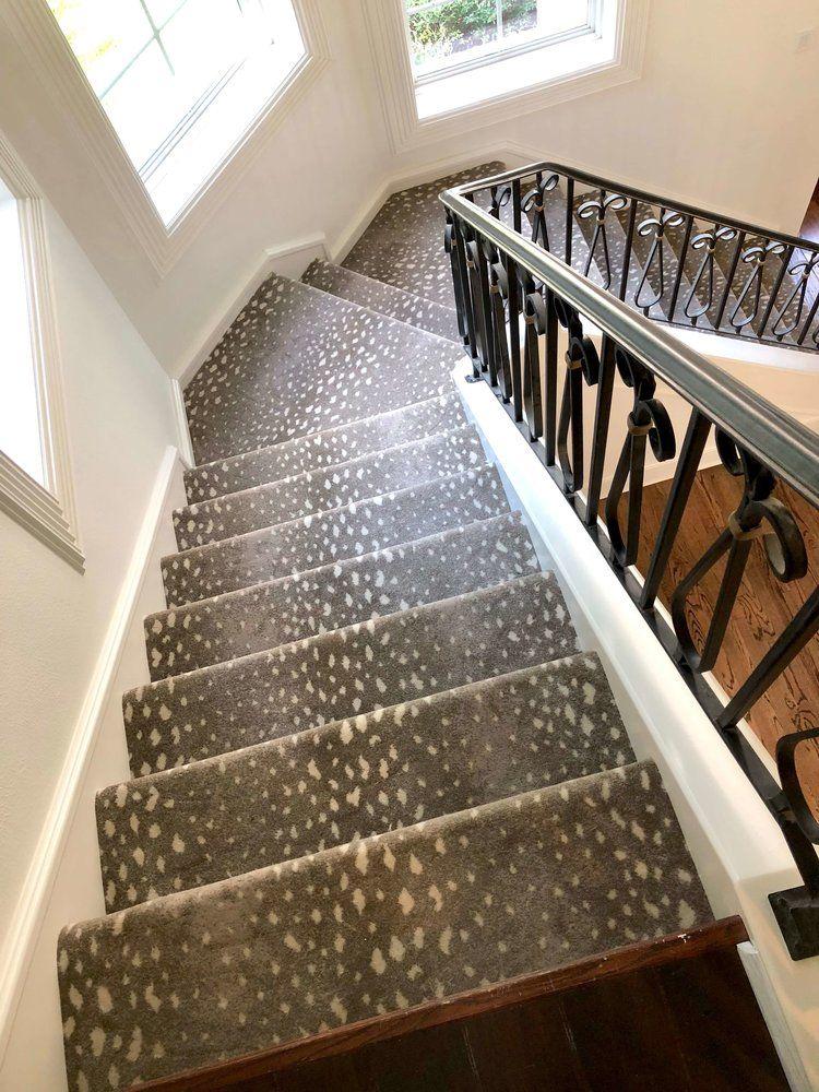 Stair Carpet Antelope Pattern From Stark