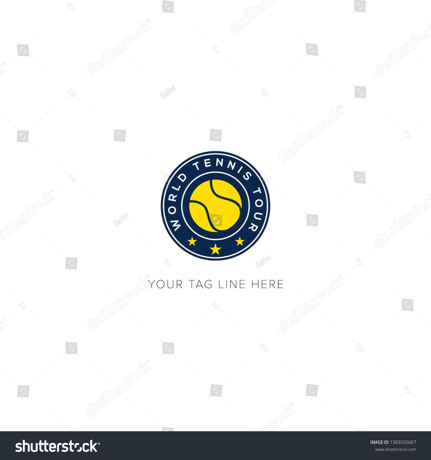 Sports Logo For World Tennis Logo Design Ad Ad Logo Sports World Design Logo Design Business Card Modern Design