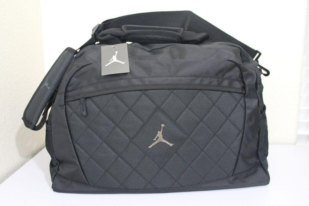 hot sale online 30bab 9b2a6 nike jordan jump man luggage gym bag black 19