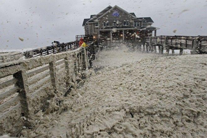 Monster Storm Targets East Hurricane Sandy Weather Hurricane Photo