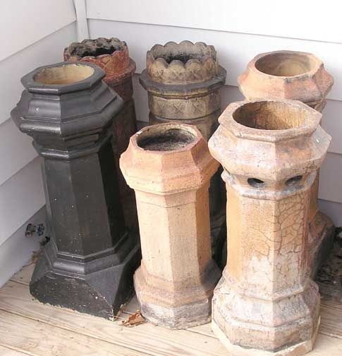 Antique Chimney Pots From Buffalo With