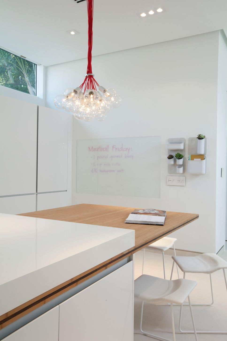writable glass on the wall for kitchen notes. Rooms Viewer | HGTV ...