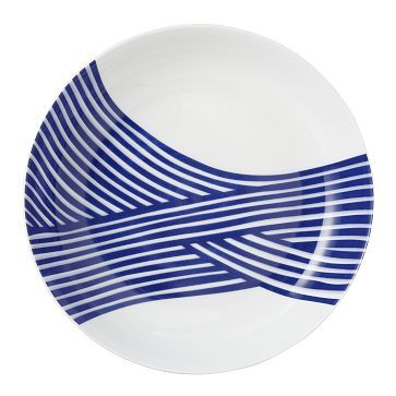 Wave Dinnerware Set #WestElm  sc 1 st  Pinterest & Wave Dinnerware Set #WestElm | Window Shopping | Pinterest ...
