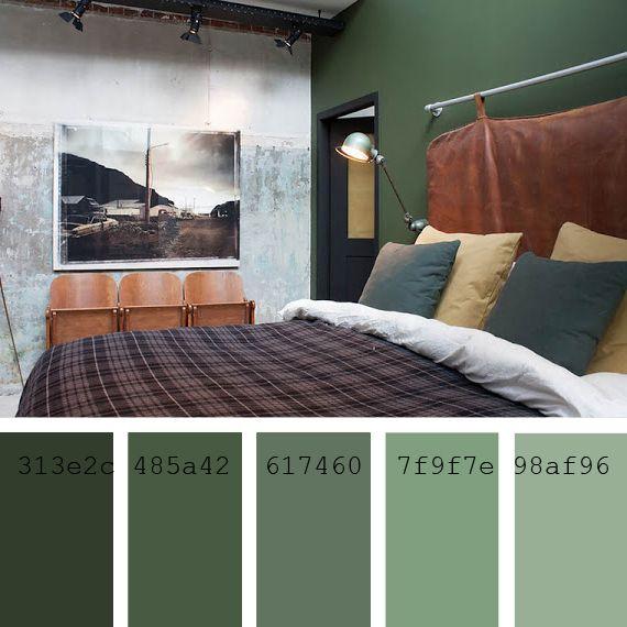 pintar las paredes cmo elegir el color palette verde
