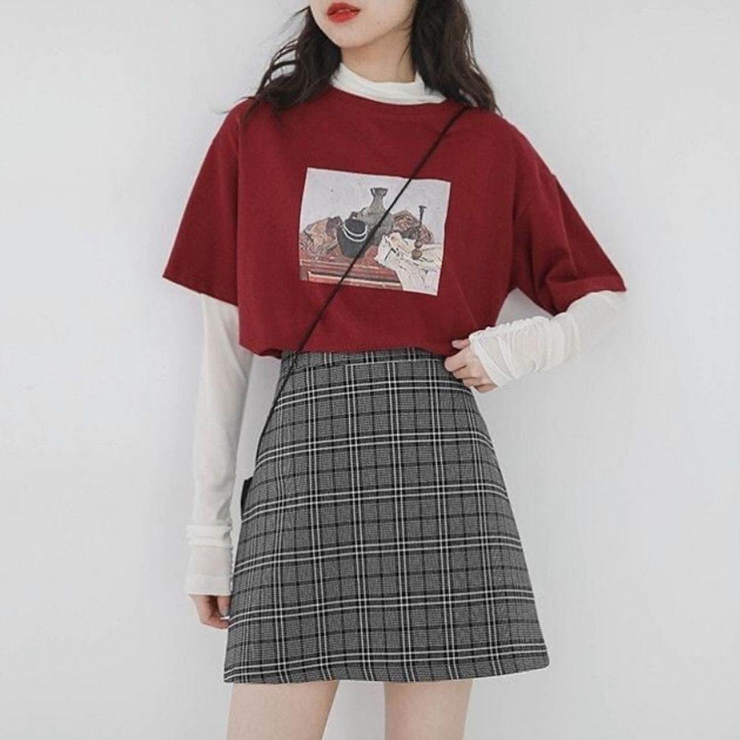 Women Trendy Wear Idea Style Birthday 2020 Cute Japanese Fashion Tiktok School Korean Fashion Kpop Fashion Outfits Cute Casual Outfits
