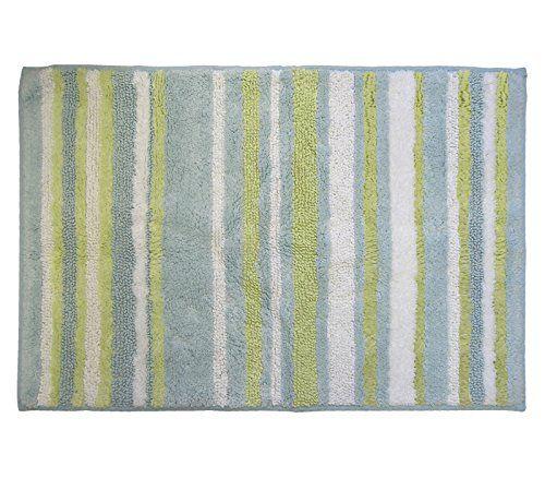 Park B Smith Magic Plush Stripe Cotton Bath Rug 24 By 40 Inch