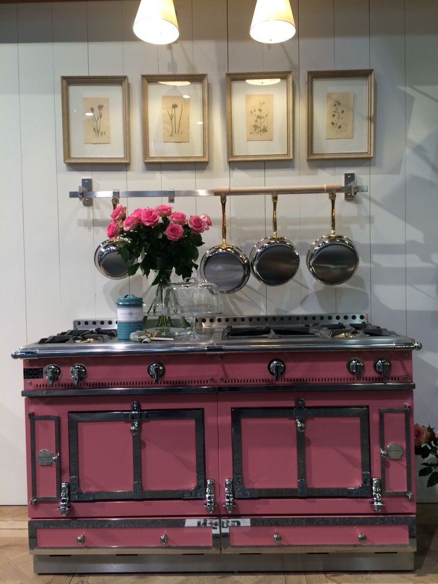 Yes. You're ready for color in your kitchen! By La Cornue ...