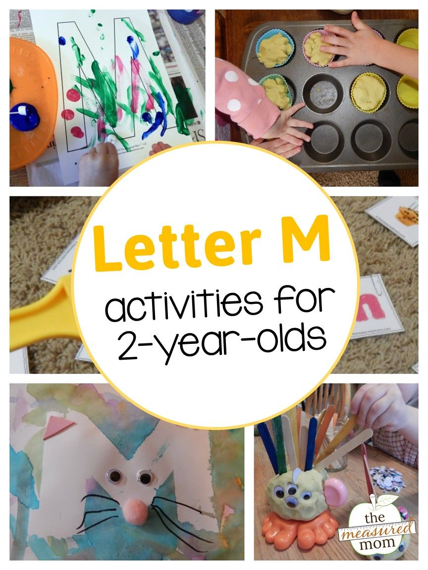 Letter M Activities for 2-year-olds   Alphabet activities ...