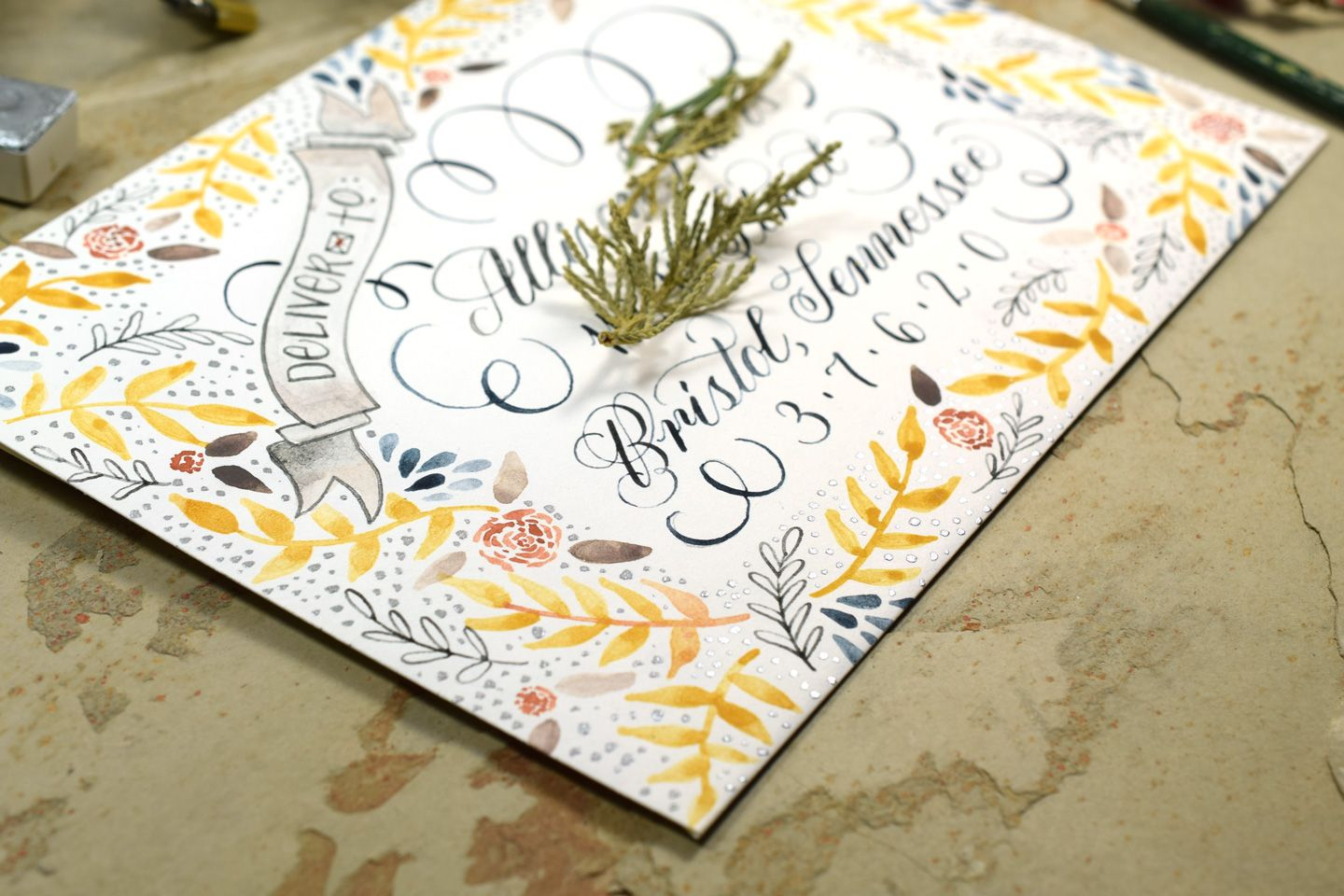 7 tips for creating watercolor calligraphy a gb