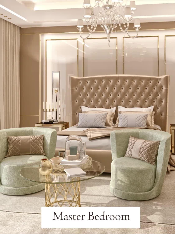 High-end large villa bedroom interior design videos for a dream