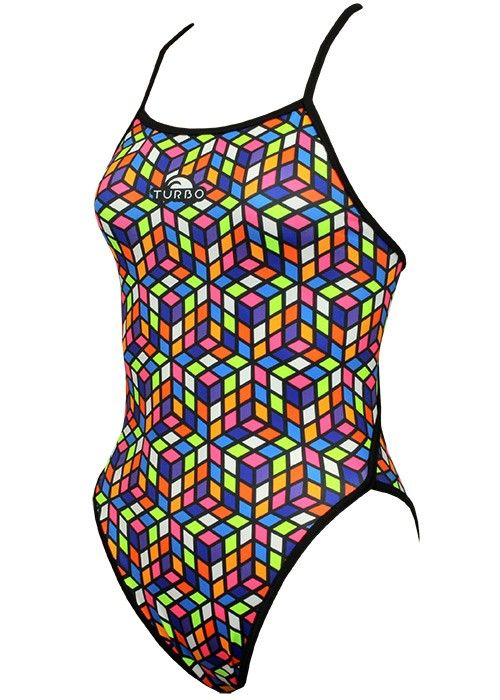 Turbo Cube Swimming Costume