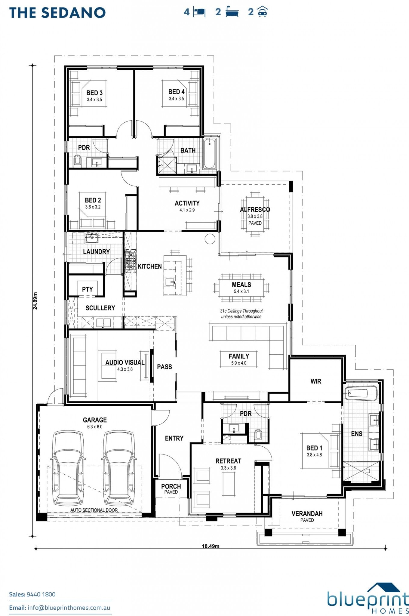 The Sedano Floorplan Jpg 1360 2048 Home Design Floor Plans Floor Plans New House Plans