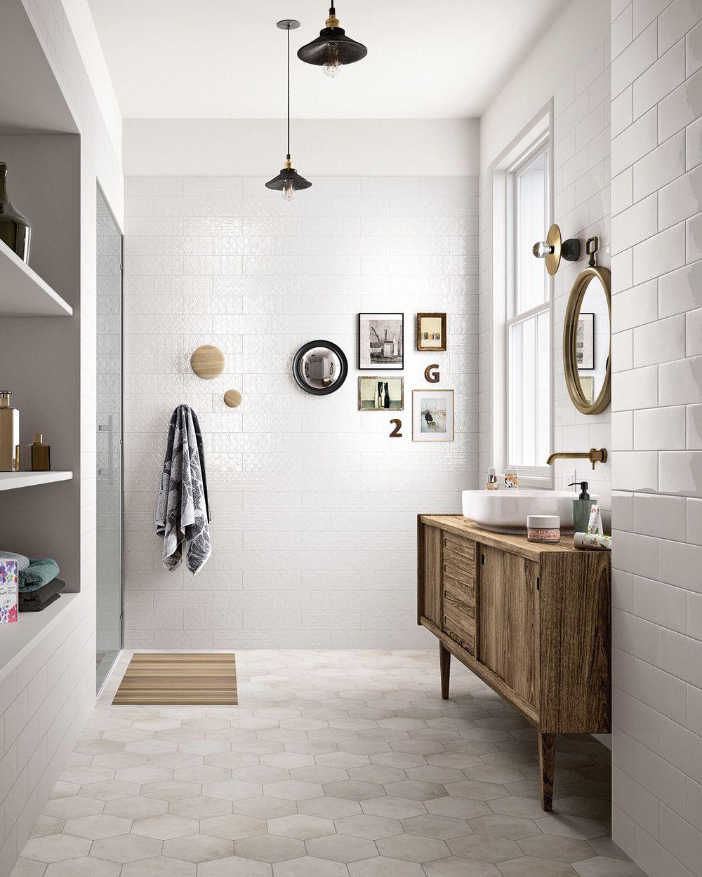 15 Idees Pour La Deco D Une Petite Salle De Bain Bathroom Floor