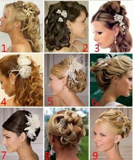 Love Number 4 Par în 2019 Bridal Hair Hair Styles și Bridesmaid