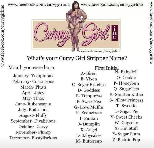 Female stripper name generator something and