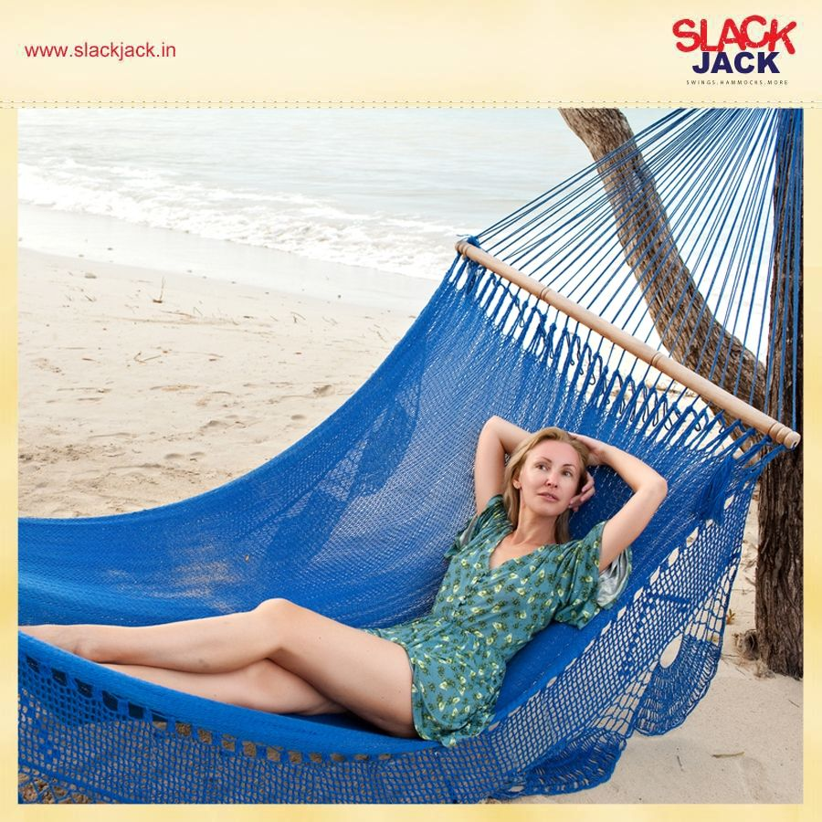 The South American style rope hammock is a piece of art! Made of closely woven hand-crafted ropes, these hammocks were traditionally used as beds by the Inca tribes. http://bit.ly/1rWynG6  #Hammock #Bed #InteriorDecor #Home #Beauty