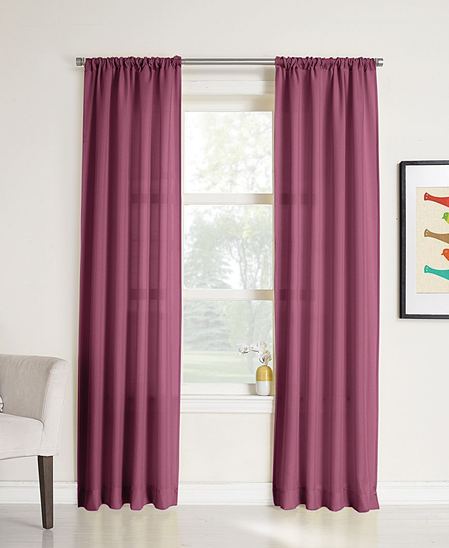 Lichtenberg No 918 Elation Sheer 40 X 95 Curtain Panel