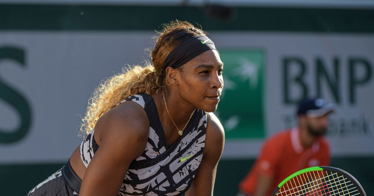 Serena Williams Defeated By 20 Year Old American Sofia Kenin In Third Round Of French Open Serena Williams French Open Mother In French