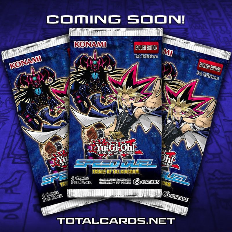 YuGiOh! Speed Duel Trials of the Kingdom Now Available