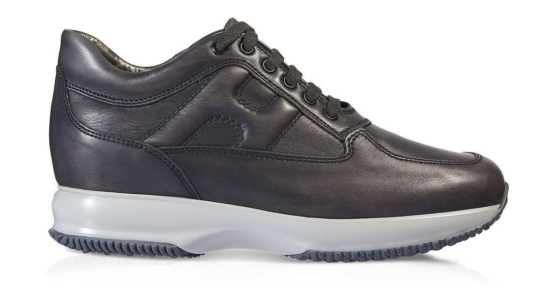 Hogan Interactive uomo autunno inverno 2014 2015: le Sneakers si tingono di  Scuro Hogan Interactive