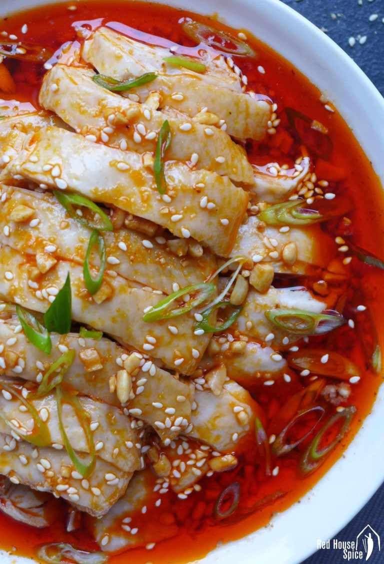 Mouthwatering chicken (Kou Shui Ji, 口水鸡) Recipe Mouth