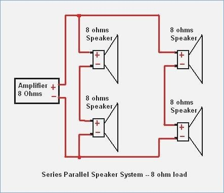 Stupendous Speaker Wire Diagram Series Parallel 8Ohm Load Impression Pleasant Wiring Database Denligelartorg