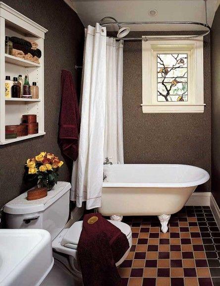 Modest Bathrooms Bungalow Bathroom Craftsman Bathroom Small Bathroom