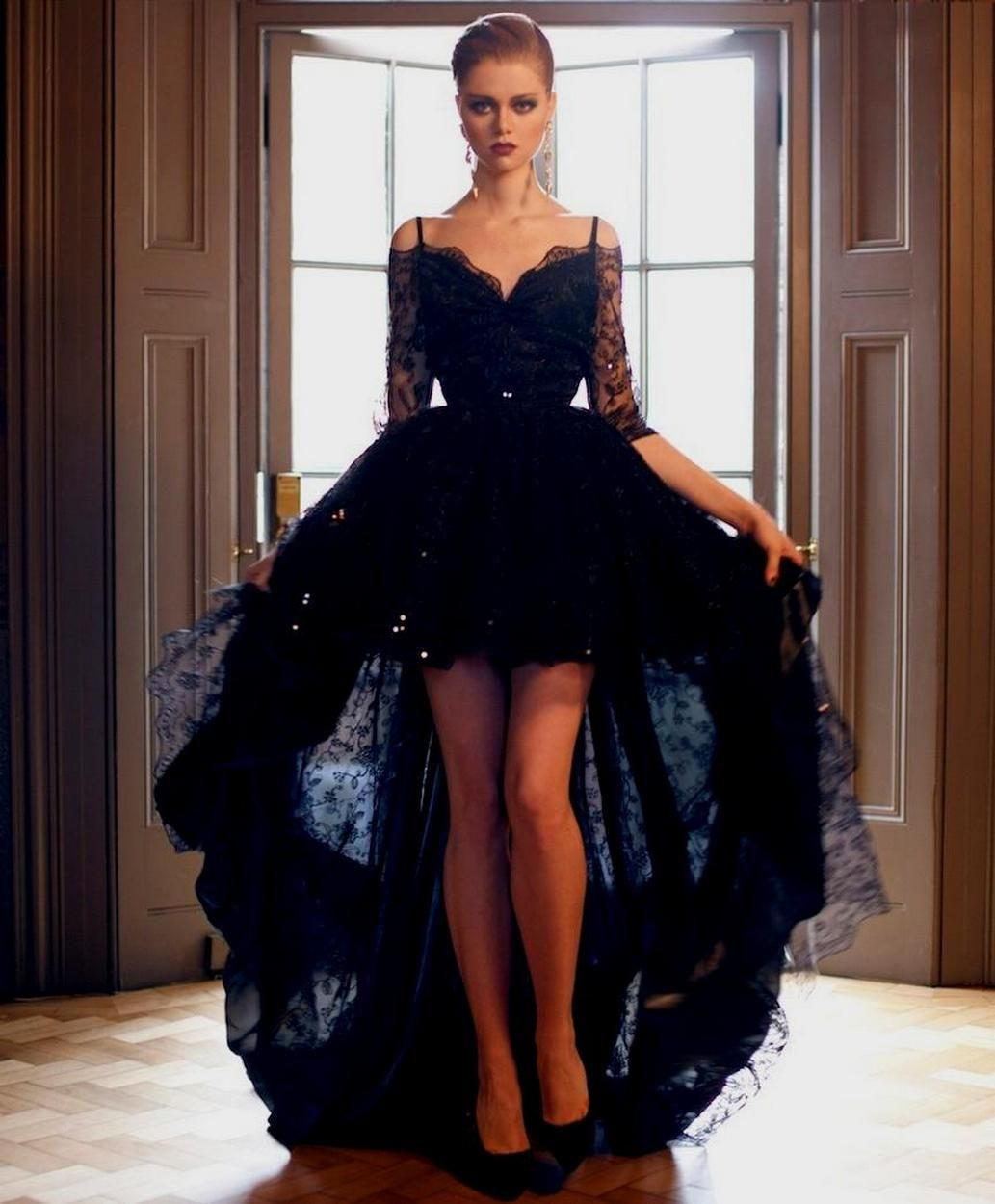 black long sleeve wedding dresses ideas dream wedding