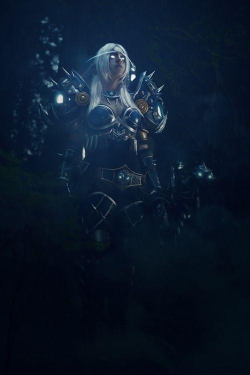 Night Elf Hunter from World of Warcraft Cosplay