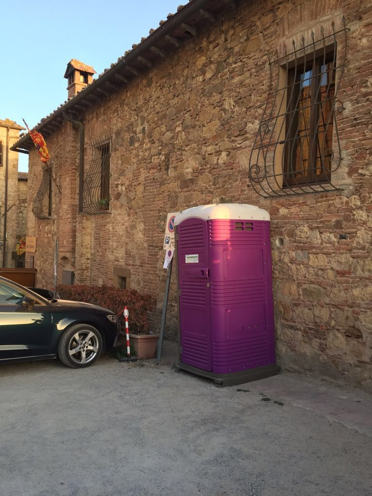 Myblok port-a-john by portable toilet manufacturer TBlustar ...