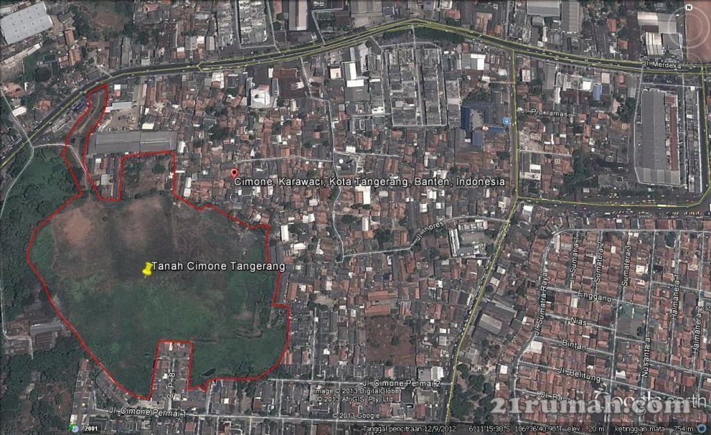 Tanah 6 4 Hektar Kota Tangerang Tangerang City City Photo