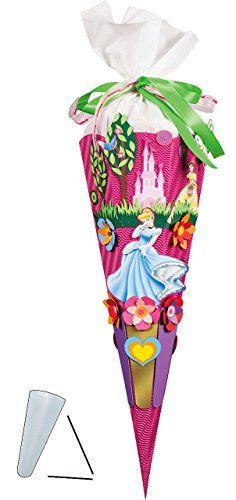 Bastelset 3 D Schultute Disney Prinzessin 85 Cm 6 Eckig Zuckertute Zum Selbst Basteln Fur Madchen Prinzessinnen Princess As Zuckertuten Basteln Prinzessinnen Und Aschenputtel