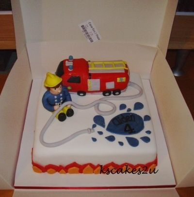 Cake Art Miranda : fireman sam birthday cake By kscakes2u on CakeCentral.com ...
