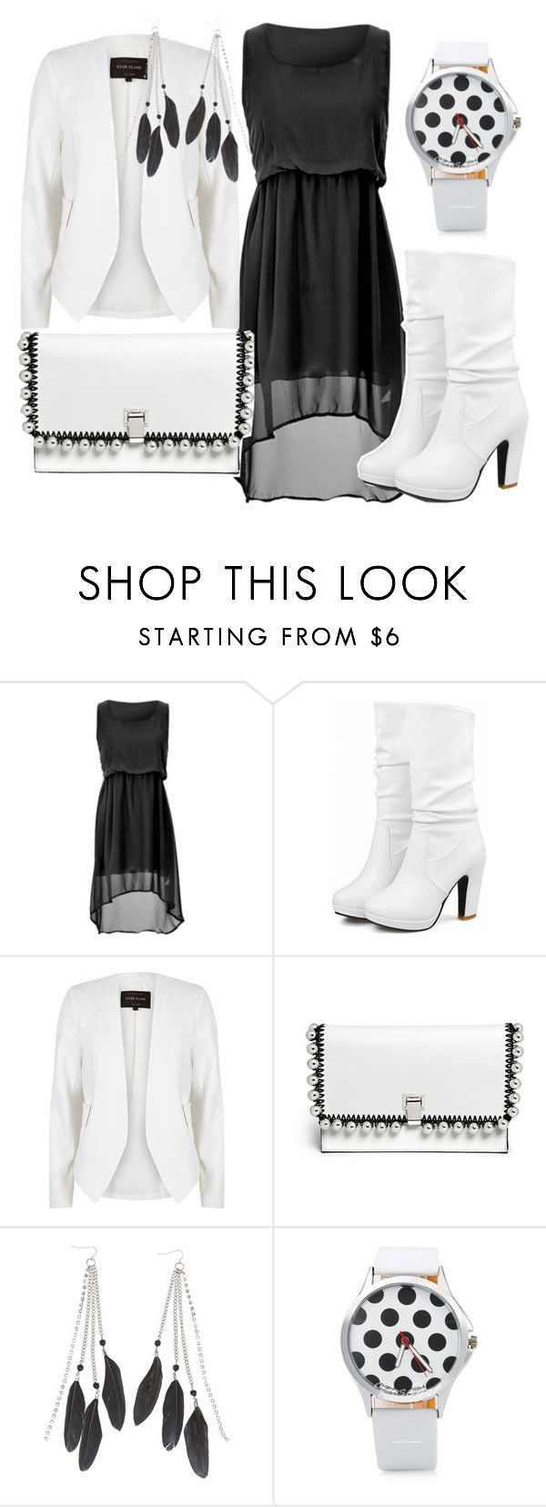 """Boots"" by christina-joann ❤ liked on Polyvore featuring River Island, Proenza Schouler and Charlotte Russe"
