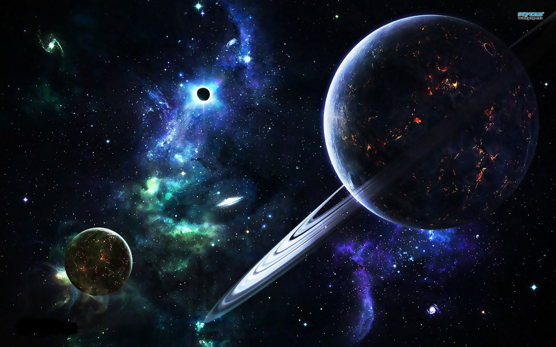 cool hd wallpapers nine planets - photo #8
