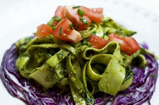 Raw vegan zucchini pasta with pesto tasty treats i want to try raw vegan zucchini pasta with pesto forumfinder Gallery