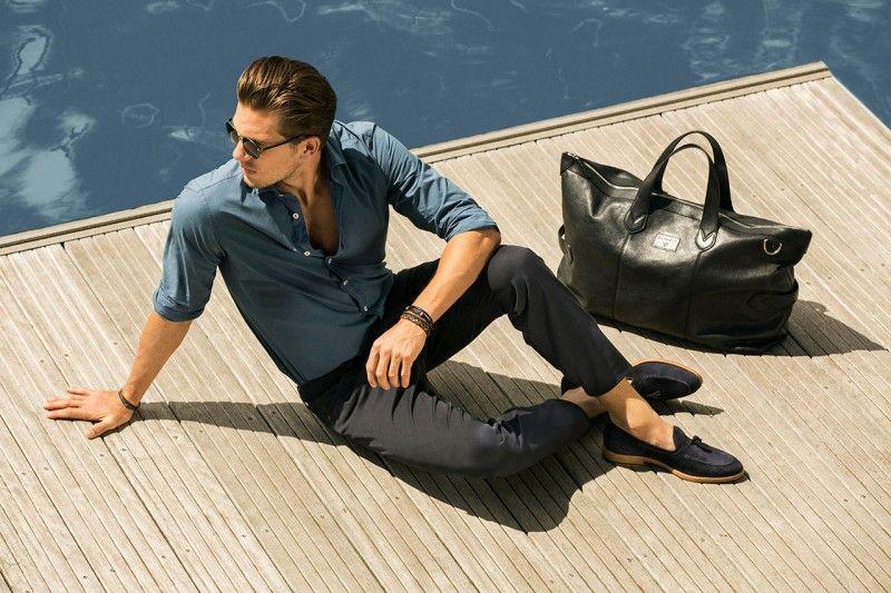 Adam Senn Sails in Style for Massimo Duttis June 2013 Lookbook