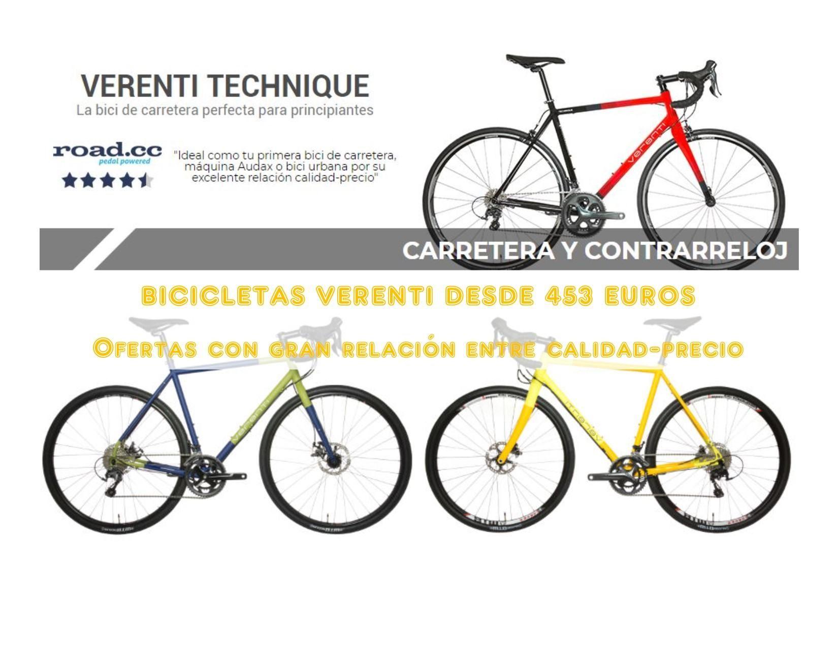 Bicicletas Verenti Con Descuentos De Hasta El 36 Bicicletas