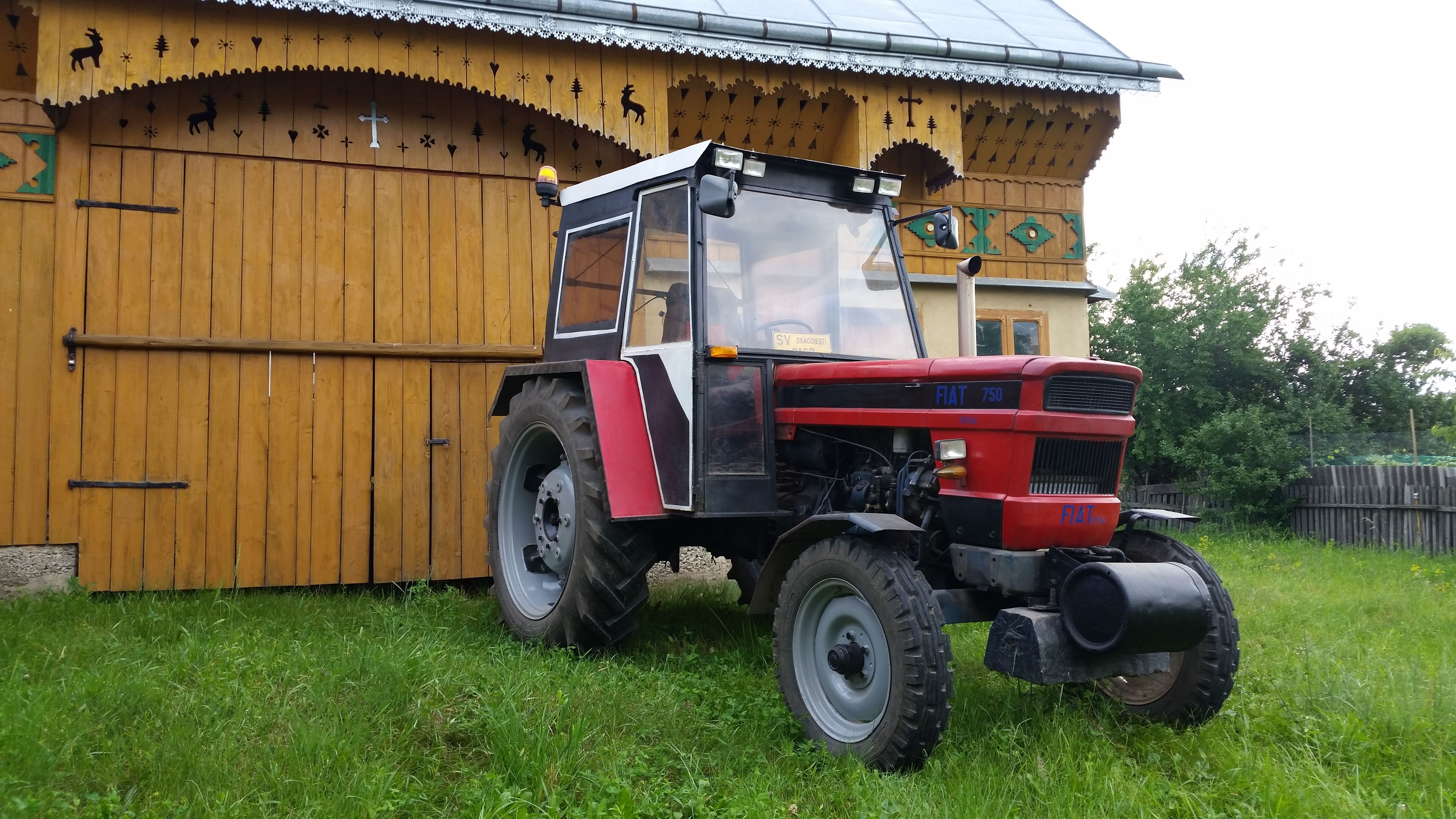 Tractor Fiat 750 Special