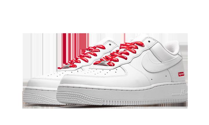 Nike Air Force 1 Low Supreme Mini Box Logo White Cu9225 100 2020 In 2020 Nike Air Nike Air Force Nike