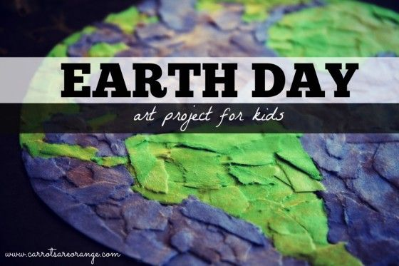 Earth Day Art Activity Torn Paper Art Collage Earth Day Art