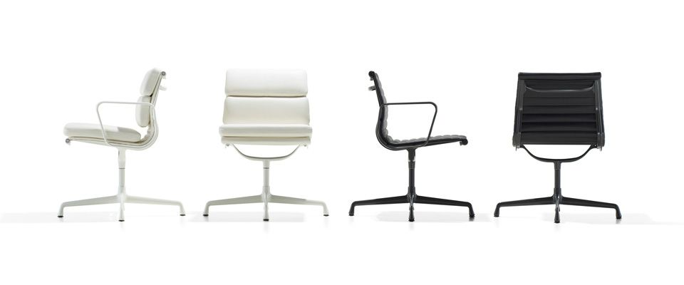 Eames aluminum group chairs side chairs chair