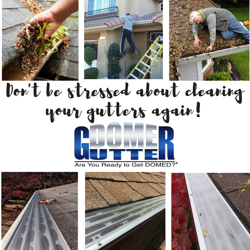 The Gutterdome Gutter Guard System Is Easy To Get We Offer Free Estimates And Financing Options That Make It Gutter Protection Gutters How To Install Gutters