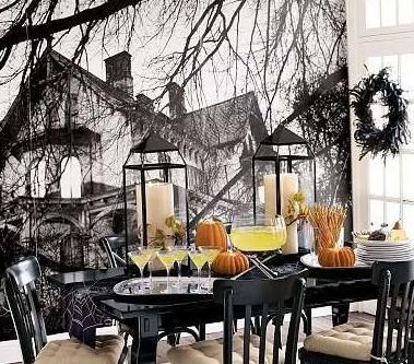 Halloween Decoration Idea halloween decor Pinterest Halloween - halloween decoration themes