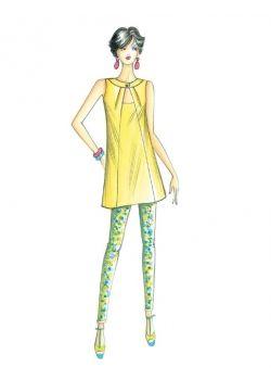 Patron de couture Chemisier / Casaques 3398 PDF