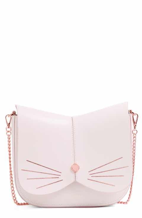 05a35637d Ted Baker London Cat Leather Crossbody Bag