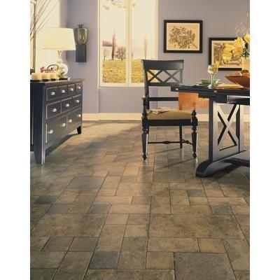Hampton Bay Tuscan Stone Bronze Laminate Flooring 2002 Sqfeet