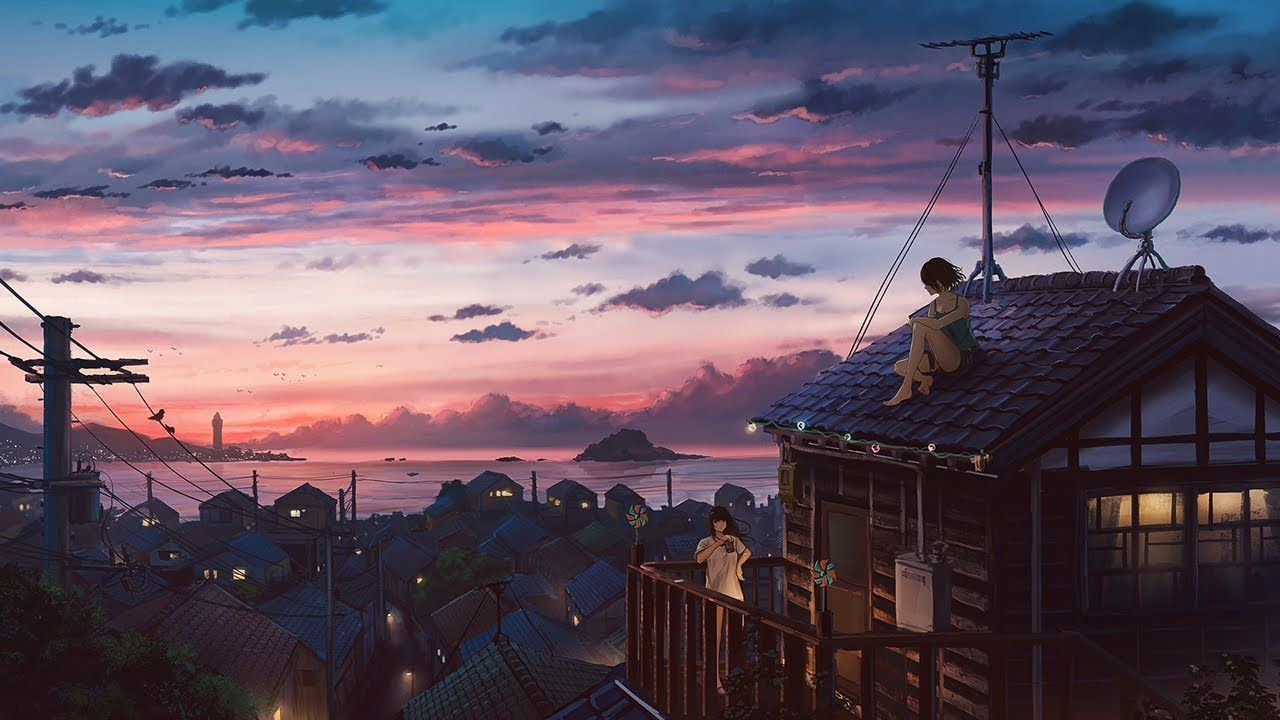 Most Beautiful Music Summer S Gone By Bob Bradley Thomas Balmforth Anime Scenery Wallpaper Scenery Wallpaper Anime Background